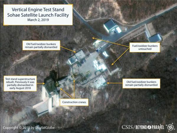 Coreia do Norte prepara disparo de míssil ou foguete afirma Radio NPR