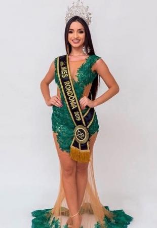 Modelo Ji-paranaense representa Rondônia no Miss Brasil que acontece neste Sábado (09)