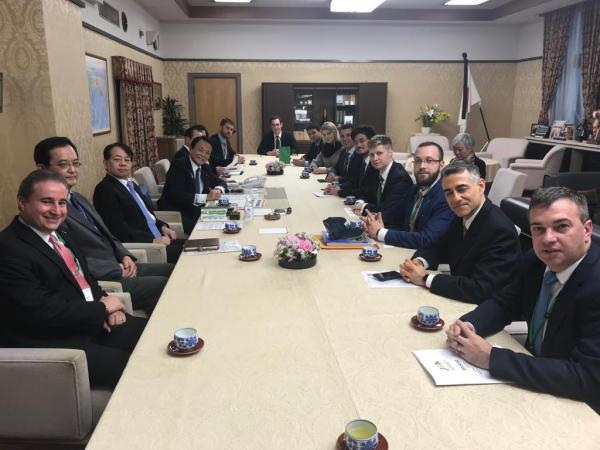 Articulação para ampliar acordo comercial com Japão tem inicia com grupo parlamentar Brasileiro