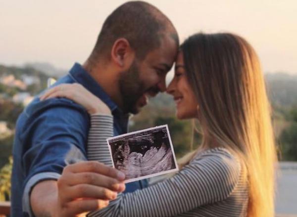 Cantor Projota revela que será pai de menina