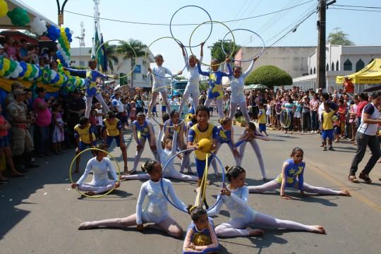 Desfile de 07 de Setembro ocorrerá no inicio da Avenida Brasil