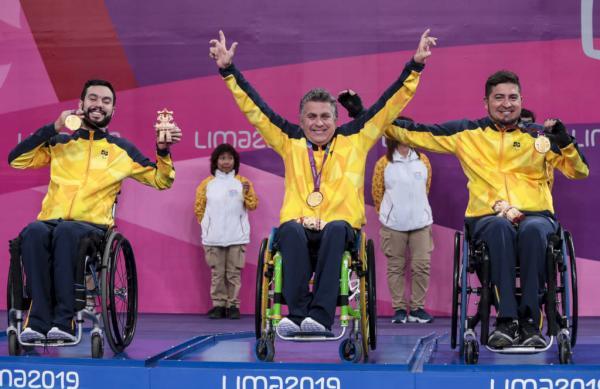 Brasil encerra participação no Parapan de Lima com 308 medalhas