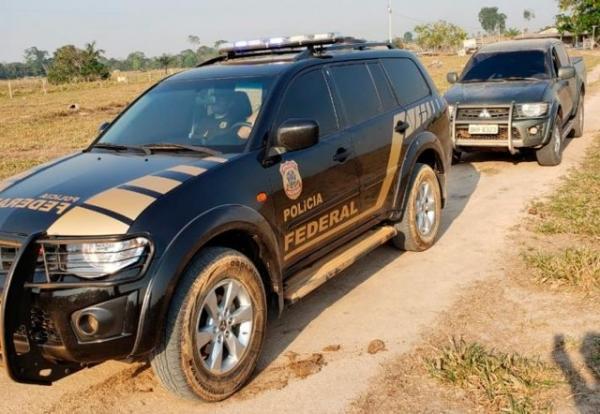 PF cumpre mandados para prender invasores de terras em Rondônia