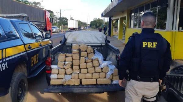 Em 8 meses, apreensão de droga pela PRF em RO já supera todo o ano passado