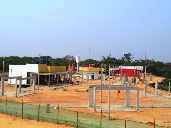 Segundo o governo, Beira Rio Cultural de Ji-Paraná será entregue em novembro