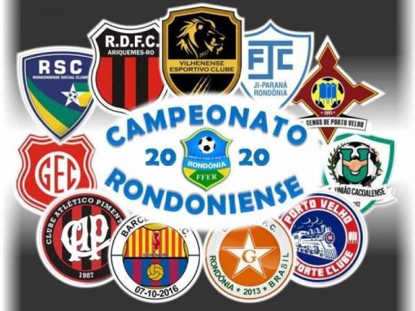 FUTEBOL - Rondoniense 2020 terá 11 clubes na disputa pela titulo