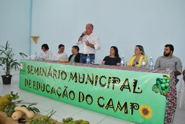 Semin�rio de Educa��o do Campo discute estrat�gias de contextualiza��o da aprendizagem na �rea rural