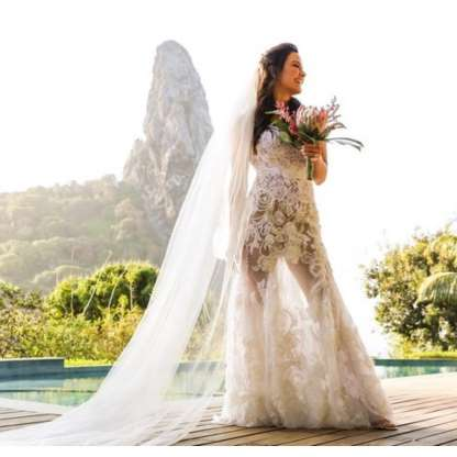Tudo sobre o vestido de noiva de R$ 45 mil de Kyra Gracie