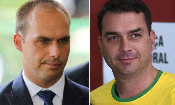 PRESIDENTE DO PSL DESTITUI FILHOS DE BOLSONARO DO RIO E SP