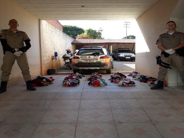 LOUCURA - Homem é preso após roubar mais de mil calcinhas usadas