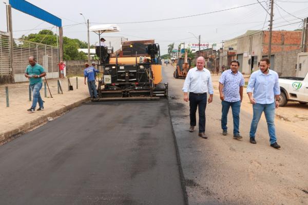 Ji-Paraná recebe 18 Km de Ruas recapeadas