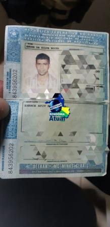 Homem é preso pela PRF com CNH falsa