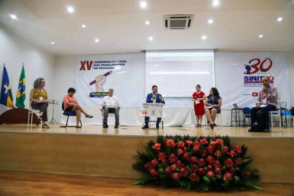 Congresso do Sintero debate sobre as novas pol�ticas p�blicas implantadas na Educa��o
