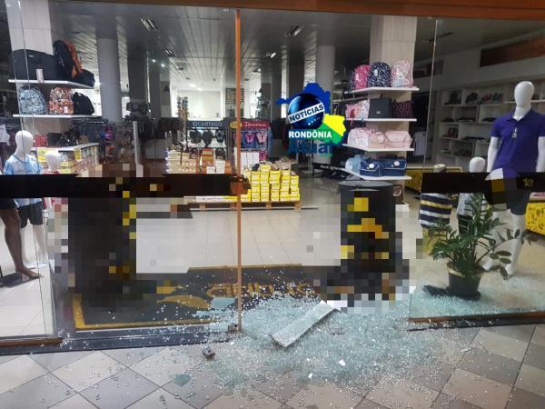 Loja e furtada por varias vezes em Ji-Paraná