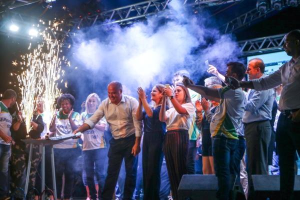 Queima de fogos e shows são atrações na festa de 42 anos de Ji-Paraná