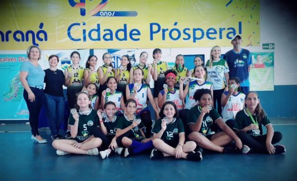 Atletas do vôlei Ji-paranaense mostram alto nível técnico