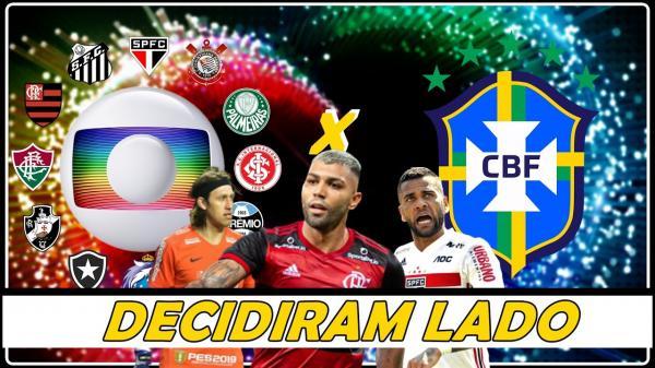 BRASILEIRÃO - Clubes da Série A se unem à CBF para peitar Globo por perda financeira.