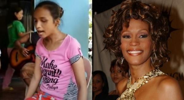 INCRÍVEL - Garota cega emociona fãs na internet com cover de Whitney Houston