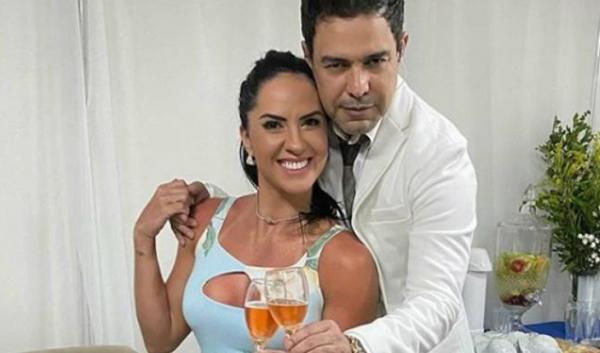 Graciele Lacerda, noiva de Zezé di Camargo, é duramente criticada após aglomeração