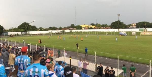 FUTEBOL - Ji-Paraná vence Guaporé em Rolim e avança rumo à semifinal do Rondoniense