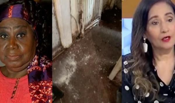 Autoridades invadem o apartamento da atriz Marina Miranda e retiram até rato morto