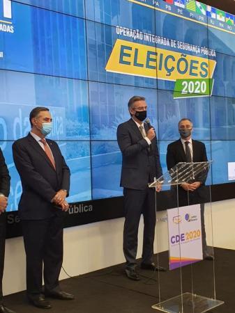 POLICIA FEDERAL E FORÇAS DE SEGURANÇA ATUARAM COM CENTRO DE INTELIGÊNCIA NAS ELEIÇÕES 2020