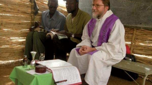 Padre Maccalli comovido agradece as palavras do Papa