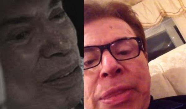 Chorando, Silvio Santos diz que seus órgãos estão 'apagando' e faz triste desabafo