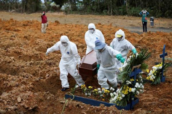ROND�NIA REGISTRA 13 MORTES E MAIS DE 1200 CASOS DE CORONAV�RUS EM 24 HORAS