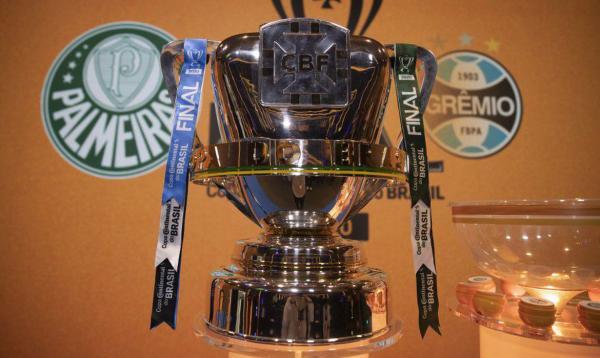 Apos sorteio, Palmeiras decidira Copa do Brasil em casa