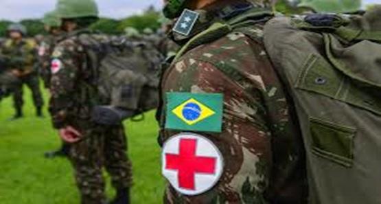 Exército abre nova seleção para profissionais da área da saúde