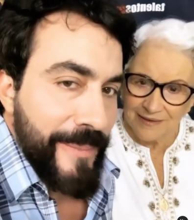 Padre Fábio de Melo presta homenagem à mãe: 'Que saudade eu sinto de nós dois juntos!'