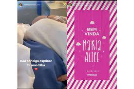 Maria Alice chegou! Virgínia Fonseca dá à luz 1ª filha com Zé Felipe: 'Com muita saúde'