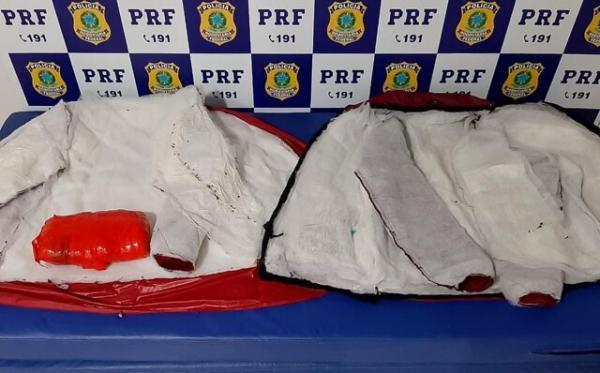POLICIA RODOVIÁRIA FEDERAL PRENDE MAIS DE R$ 200 MIL EM DROGAS