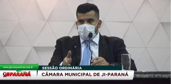 AO VIVO CONFIRA A SESSÃO DA CÂMARA DE VEREADORES DE JI-PARANÁ