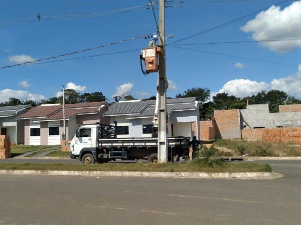 Semosp segue com duas equipes na manutenção da iluminação pública