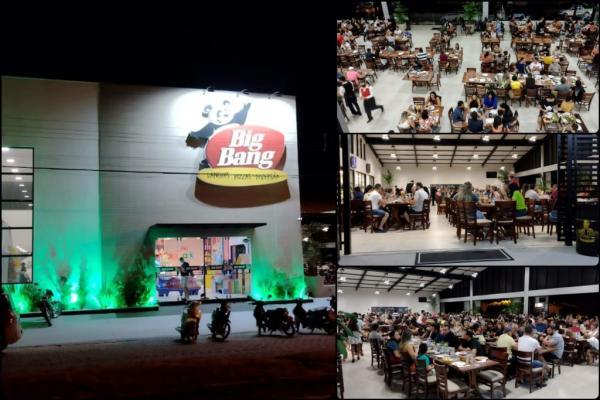 Inauguração da Big Bang Pizzaria da Av. Menezes Filho
