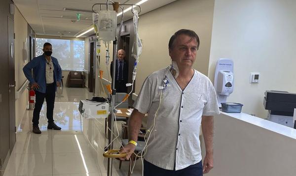 BOLSONARO DEVE SAIR DO HOSPITAL NESTE DOMINGO (18)