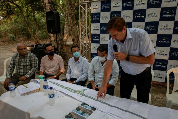 Parque Ecológico começa a ser ampliado e revitalizado com recurso do senador Acir