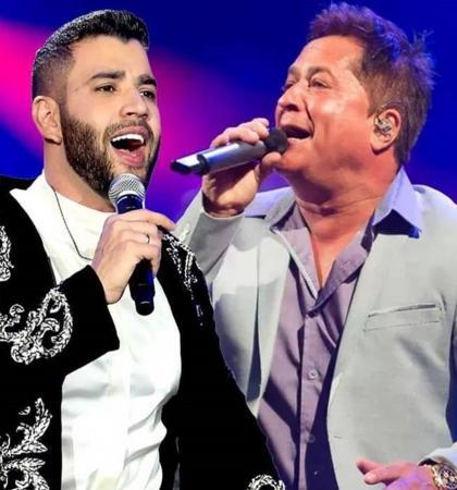 Pai de Gusttavo Lima e sertanejo Leonardo parabenizam cantor
