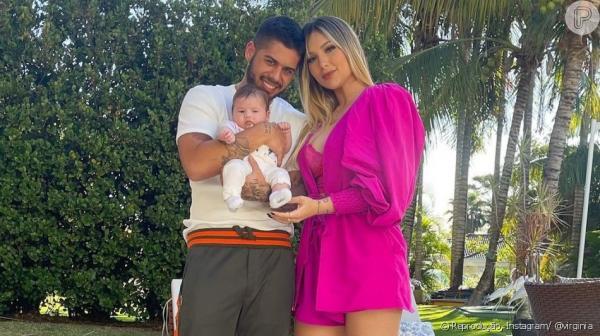 Virginia revela nome do próximo filho e explica divisão de bens com Zé Felipe