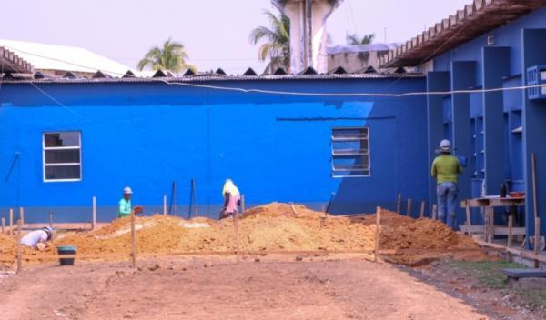 Prefeitura inicia construção de 10 leitos de UTI em Ji-Paraná
