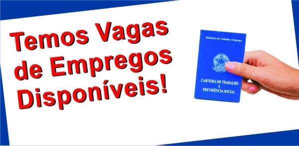 EMPREGOS - Comércio oferece mais de 30 vagas de empregos nesta Quarta (03)
