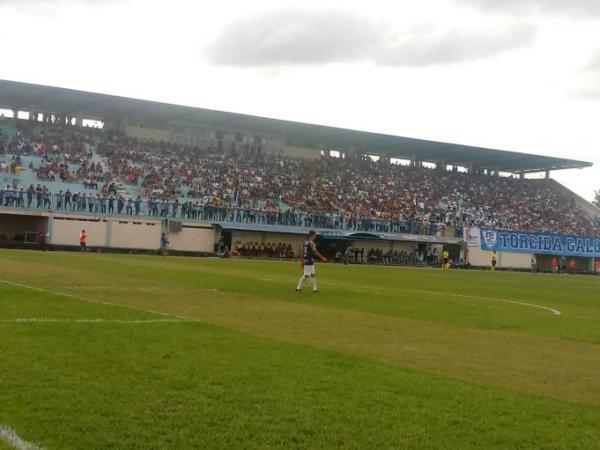 Ji-Paraná e Real Ariquemes empatam a primeira partida da semifinal