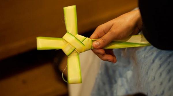 Oração para colocar no lar as palmas do Domingo de Ramos