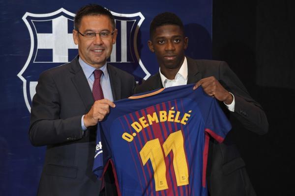FUTEBOL - Démbélé é melhor que Neymar diz Presidente do Barcelona