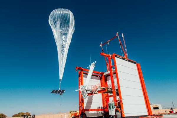 JI PARANA Objeto visto no céu da cidade era um balão de projeto inovador do Google