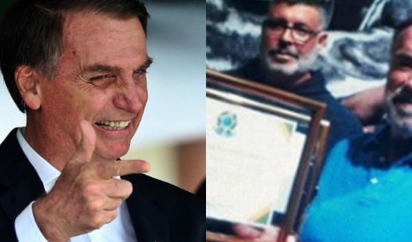 Bolsonaro faz homenagem a Arnold Schwarzenegger e o que dá ao 'fortão' surpreende