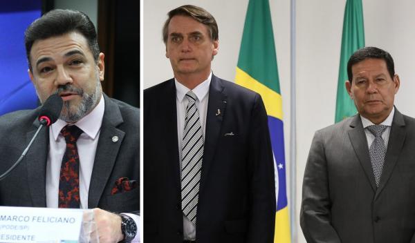 URGENTE - Vice líder do Governo pede impeachment de Vice Presidente Hamilton Mourão