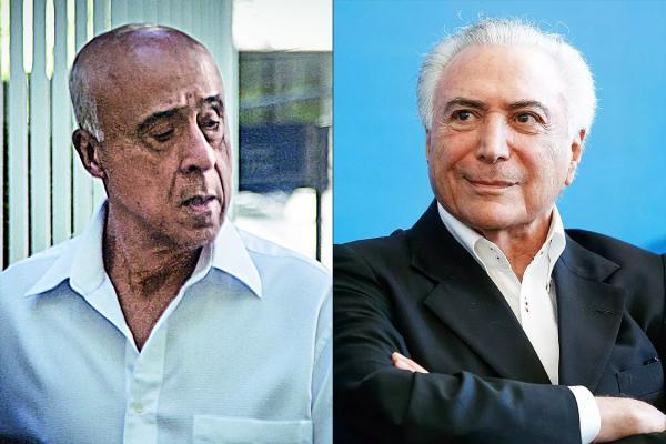 MPF identifica autor de movimentação de R$ 20 milhões em Empresa de amigo de Temer